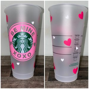 starbucks cold cup valentines day for Sale in San Bernardino, CA
