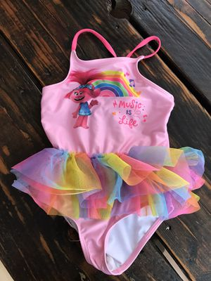 Trolls bathing suit 5 t for Sale in Temecula, CA