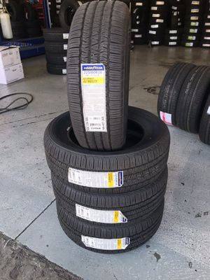 BRAND NEW SET OF GOODYEAR TIRES 225/60r16 225/60/16 for Sale in Bloomington, CA