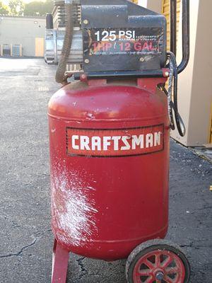 12 gallon Air compressor-Craftsman for Sale in Sunrise, FL
