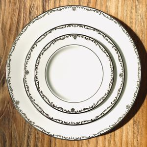 Lenox Coronet Platinum Fine China Set - 8 place settings, plus creamer boat for Sale in Frederick, MD