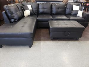 Astonishing New And Used Black Sectional For Sale In Citrus Heights Ca Evergreenethics Interior Chair Design Evergreenethicsorg