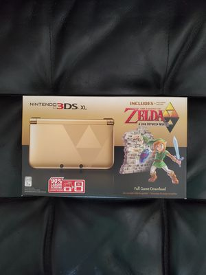 NEW Nintendo 3DS XL Zelda Limited Edition for Sale in Pittsburgh, PA