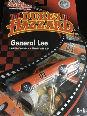 Vintage Dukes of Hazard General Lee Rare error card. Cooter's Camaro back not for action figure toy collection for Sale in El Paso, TX