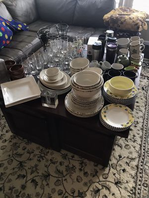 Large selection of various chinaware,glassware, and others. for Sale in Herndon, VA