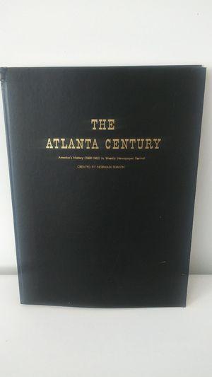 The Atlanta Century Book for Sale in Atlanta, GA