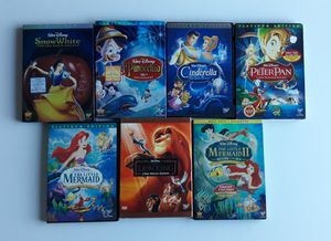 Disney DVDs $10 each for Sale in El Cerrito, CA