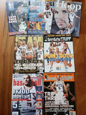 Jason Kidd New Jersey Nets NBA basketball magazines for Sale in Gresham, OR