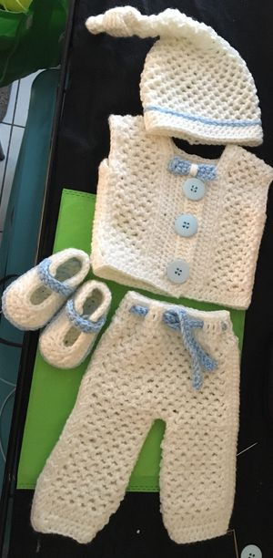 crochet costume for newborn for Sale in Winter Haven, FL