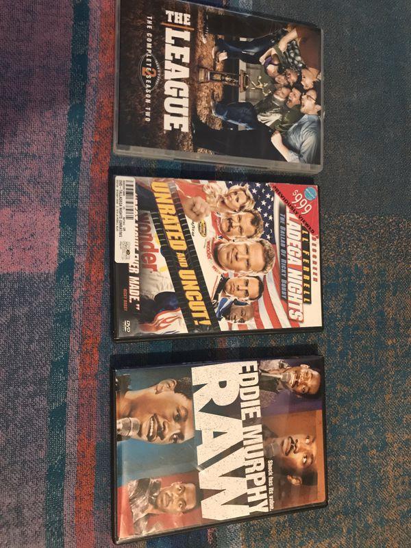 3 Movie DVDs