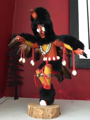 "Used, Signed Native American Kachina Doll ""Eagle"" Dancer for Sale for sale  Norwalk, OH"
