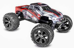 Redcat Racing Terremoto V2 Brushless Electric Monster Truck with 2.4GHz Remote Control, 1/8 Scale, Red for Sale in Hesperia, CA