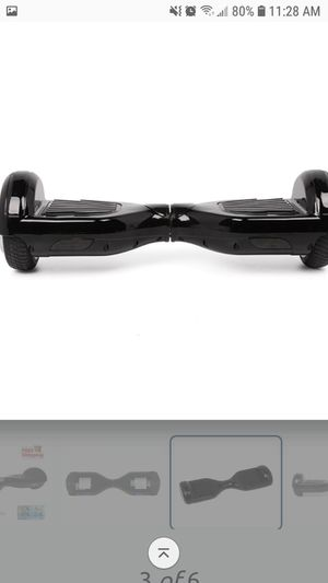 Black hoverboard with bluetooth for Sale in Pflugerville, TX