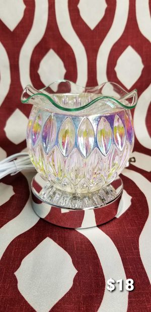 Essential Electric Oil/Tart Warmer Burner Diffuser Lamp Touch Base for Sale in Moreno Valley, CA