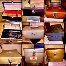 Metal Storage And Lock Boxes - Variety Sizes for Sale in Conyers,  GA