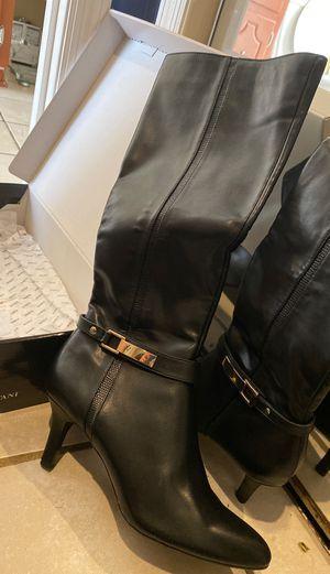Black Leather long Alfani boot for Sale in Nashville, TN