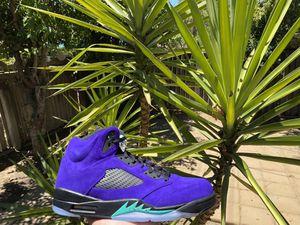 Jordan 5 Alternate Grape 🍇 for Sale in Fresno, CA