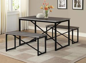 3PC Metal Dining table set $198.00. In stock! Super sale! Free delivery 🚚 for Sale in Ontario, CA