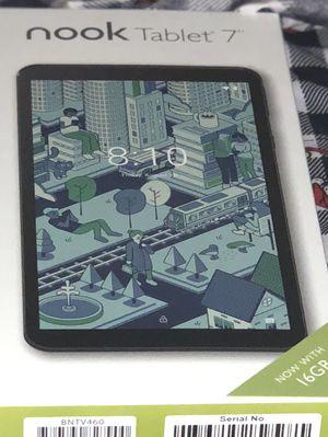 BRAND NEW Nook Tablet 7 16GB BUNDLE for Sale in Fort Belvoir, VA