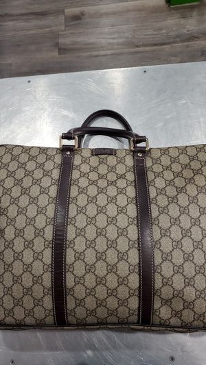 Gucci laptop bag with strap for Sale in Sacramento, CA