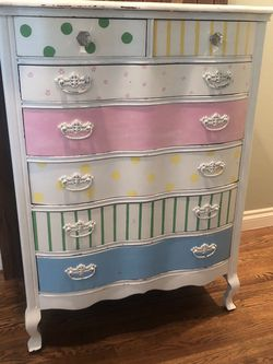 Handpainted Dresser and Nightstand Set for Sale in Brea,  CA
