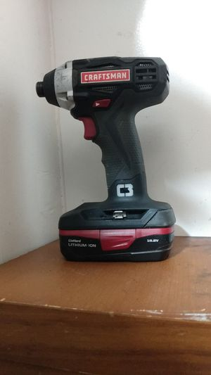 Craftsman c3 drill works great for Sale in Tacoma, WA