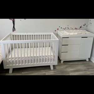 Baby Crib, Dresser , Mattress ( all Together) for Sale in Buffalo Grove, IL