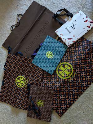 6 bags: Tory Burch, Louis Vuitton, and Diane Von Furstenberg for Sale in San Diego, CA