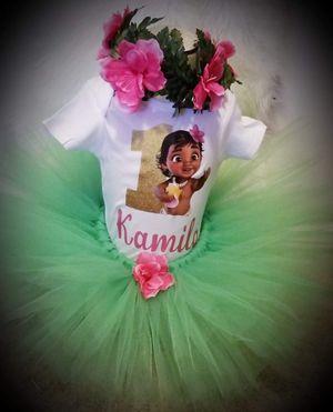 Baby moana tutu for Sale in Phoenix, AZ