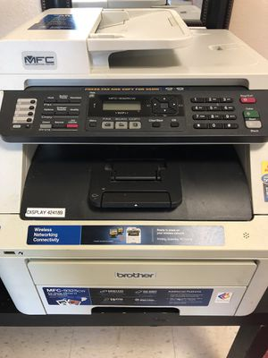 2 printers : brother mfc 9325cw + HP DeskJet 3050 All-in-One Multifunction ( Printer / Copier / Scanner ) for Sale in Carbondale, IL