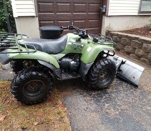 2013 Kawasaki prairie 360 new snow plow for Sale in Danbury, CT