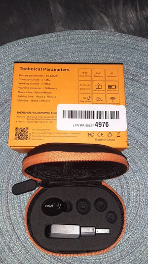 FOCUSPOWER Mini Wireless Headset for Sale in Haines City, FL