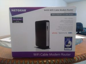 Netgear wifi cable modem router for Sale in Sarasota, FL