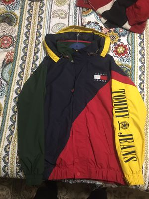 Retro Tommy Hilfiger Colorblock Jacket for Sale in Alexandria, VA