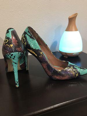 Rainbow Snake Skin Patent Leather Steve Madden Heels - Size 9.5 for Sale in Kirkland, WA