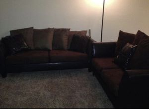 Suede Couch for Sale in Winter Park, FL