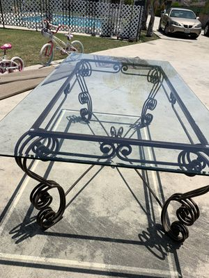 Beveled Glass Table for Sale in Monrovia, CA