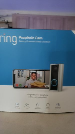 Ring doorbell camera wireless for Sale in Bradenton, FL