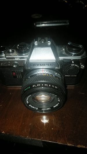 Olympus OM-10 SLR w/F.zuiko 50mm Lens Camera for Sale in Cleveland, OH