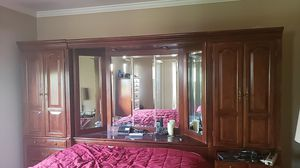 Headboard + Cabinets for Queen Bed for Sale in Los Gatos, CA