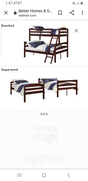 Wood bed frame for Sale in Carbondale, IL