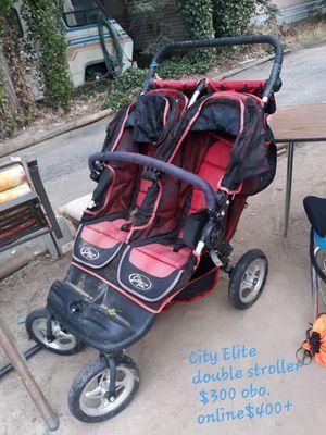 City elite double stroller. for Sale in Wenatchee, WA