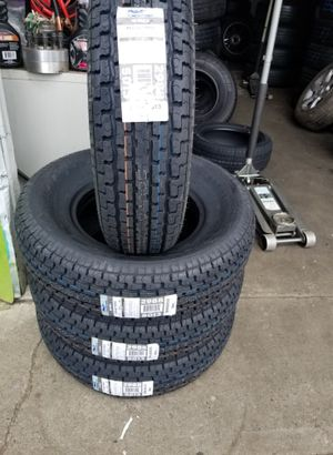 ST225/75/15 New Trailer Tires 10 Ply Tax Included for Sale in Everett, WA
