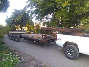 Triple axle trailer for Sale in Aurora, OR