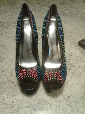 Rhinestone Multi Colors Pumps for Sale in Pittsburgh, PA