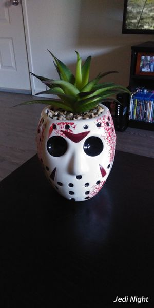 Friday the 13th Jason Voorhees pot without aloe for Sale in Rohnert Park, CA