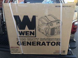 Wen 3100 watt super quit inverter generator for Sale in Columbus, OH