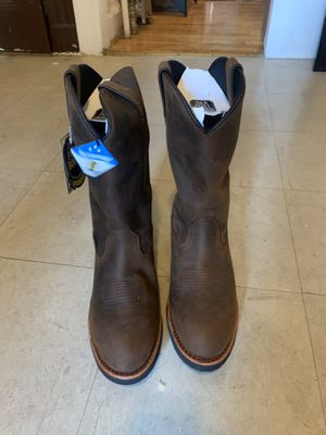 Dan Post Albuquerque Work Boots Waterproof Men's 12EW for Sale in Brooklyn, NY