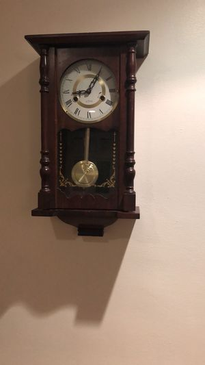 Wall clock with pendulum antique for Sale in Woburn, MA