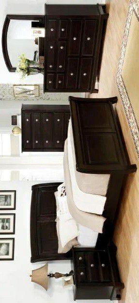 Kenton Dark Brown Sleigh Bedroom Set for Sale in Silver Spring, MD